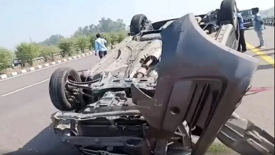 Accident on Lucknow-Agra Expressway