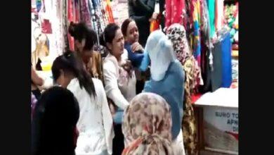 'आंटी' कहने पर भड़की महिला Woman angry at being called 'aunt'