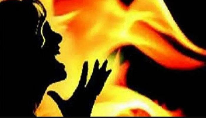 दुष्कर्म पीड़िता को जिंदा जलाया