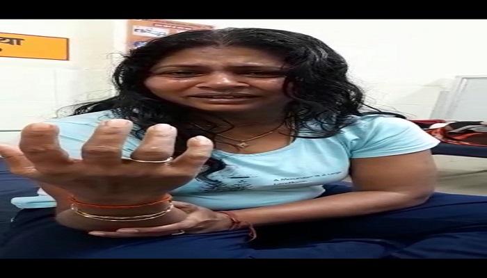 डीएम की पत्नी का वायरल वीडियो