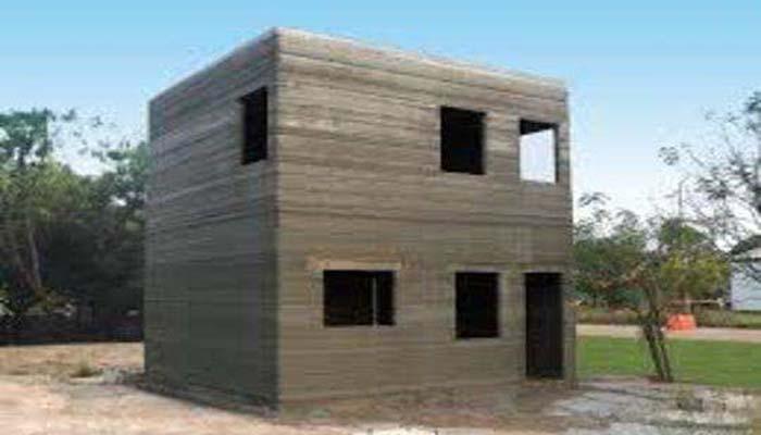 building using 3d priniting