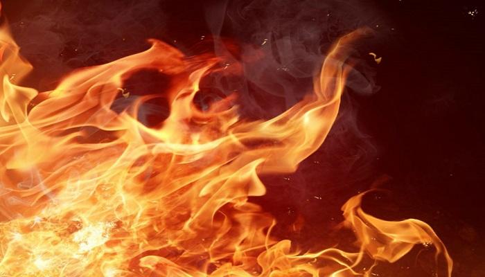 massive fire brokeout