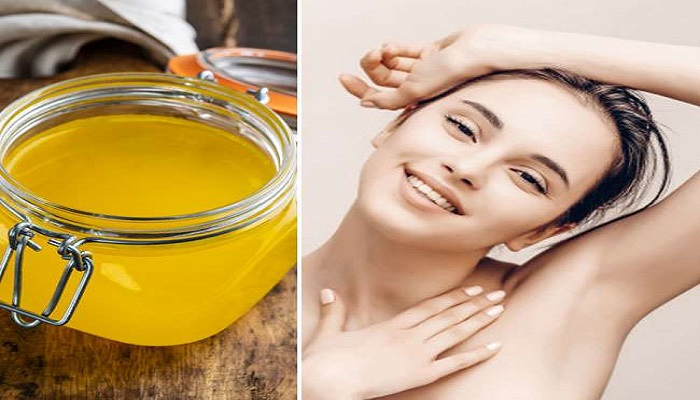 use of ghee for skin