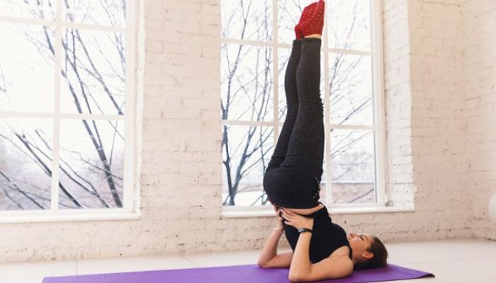 yogasan for glowing skin