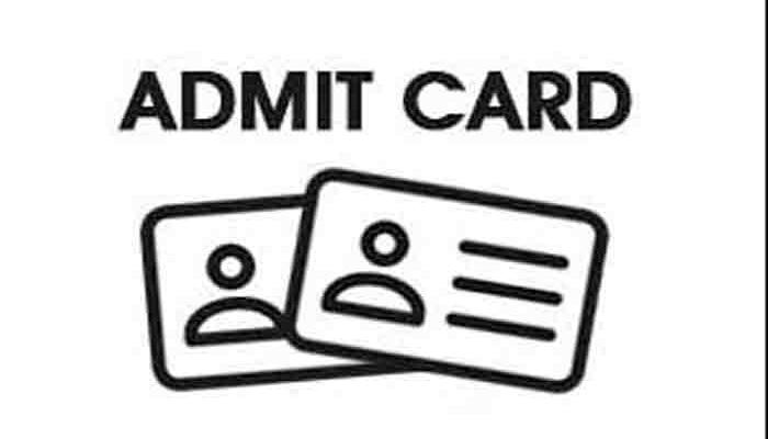 Admit card s