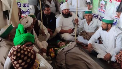 Farmer's death due to cold at Ghazipur border