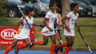 भारतीय महिला हॉकी जूनियर टीम Indian women's hockey junior team beat Chile 2-0