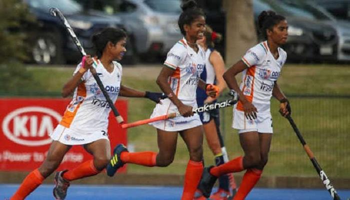 भारतीय महिला हॉकी जूनियर टीम भारतीय महिला हॉकी जूनियर टीम ने चिली को 2-0 से हराया