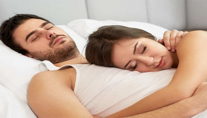 benefits of sleeping with a partner