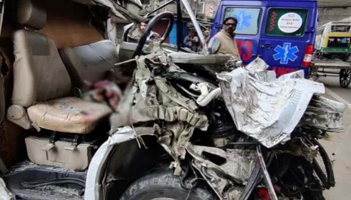 accident in bhadohi