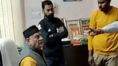 भाजपा के पूर्व विधायक पर छेड़खानी का आरोप