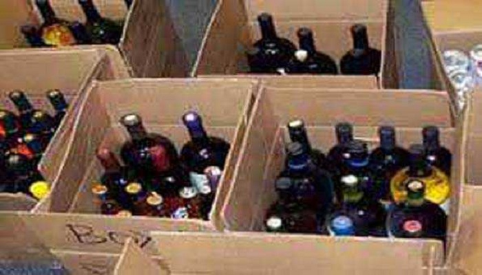 liquor recovered