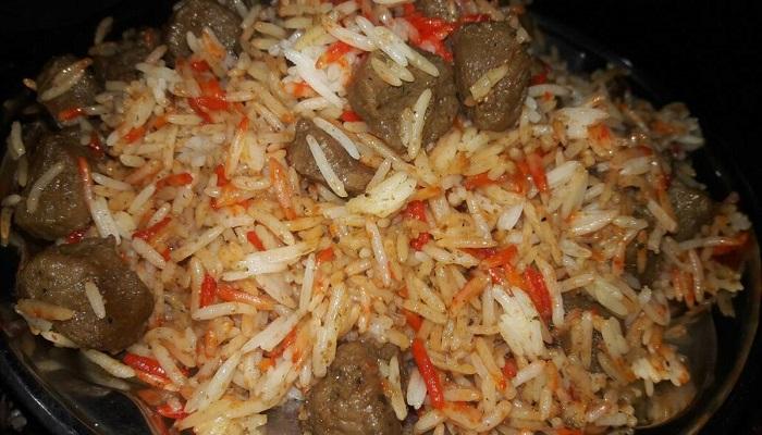 Mushroom Soya Biryani