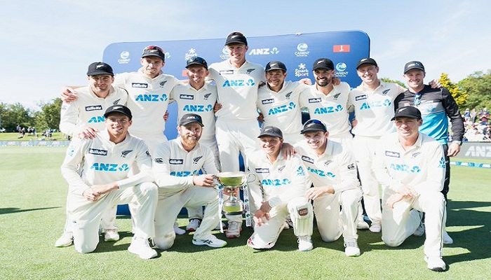न्यूजीलैंड पहली बार बनी नंबर एक टेस्ट टीम New Zealand became number one Test team for the first time