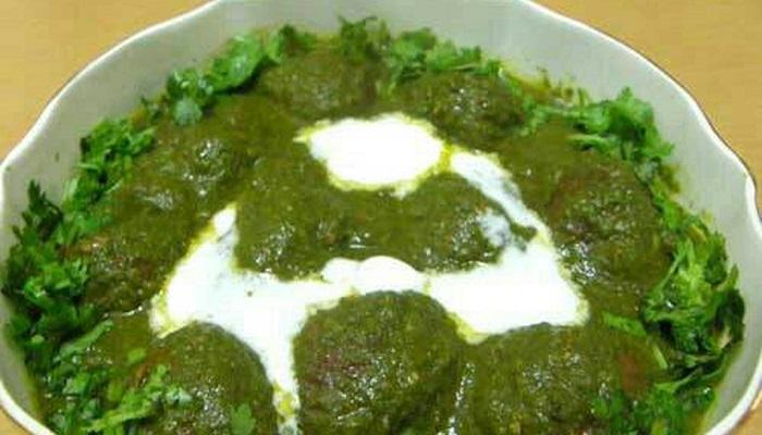 spinach malai kofta
