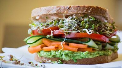 sprouts sandwich