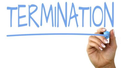 termination of service