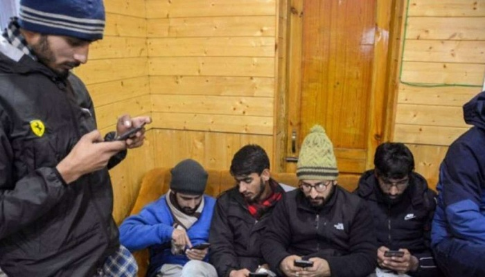 जम्मू कश्मीर में 4जी मोबाइल इंटरनेट सेवा बहाल 4G mobile internet service
