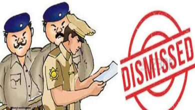 Four policemen sacked including inspector