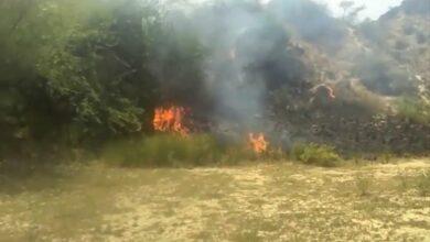 Huge fire in Chambal century