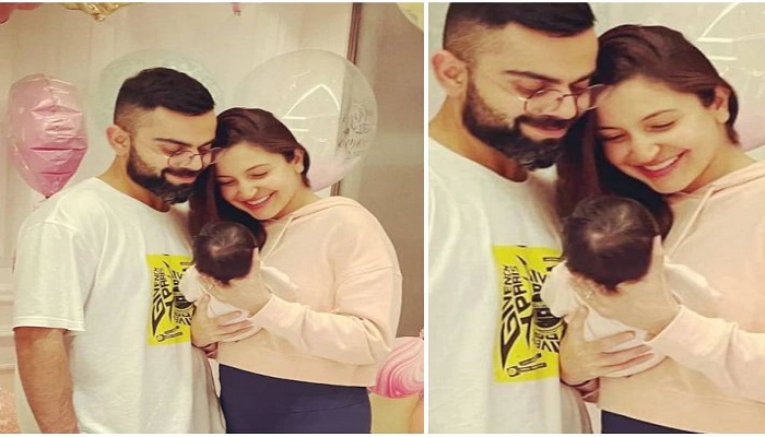 Virushka shares picture of daughter