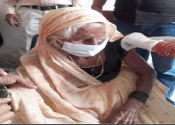 102-year-old Mahdai gets Corona vaccine