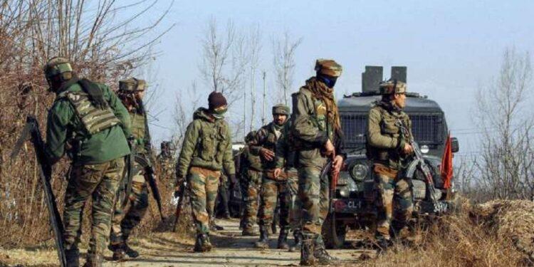 five terrorists killed