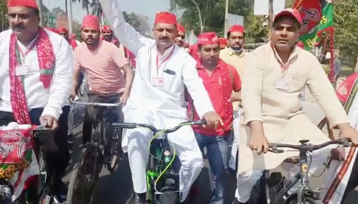 Bicycle rally