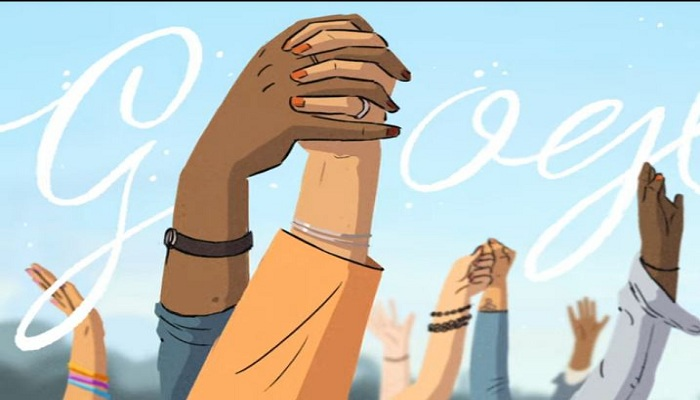 google doodle on womens day