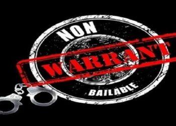 Non-bailable warrant