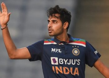Indian bowler Bhuvneshwar Kumar named 'ICC Player of the Month'