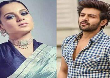 Actress Kangana Ranaut comes in support of actor Karthik Aryan