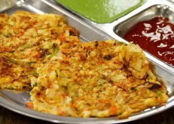 Spicy potato cheela recipe made in Falhari, see how to make it