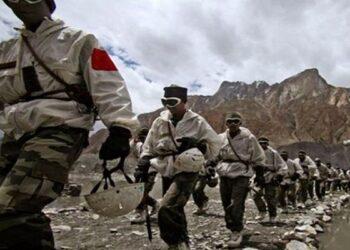 mountain strike corps