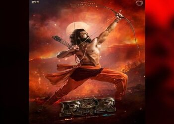 Ajay launches new poster of RRR and wishes to Gudi Padwa and Baisakhi