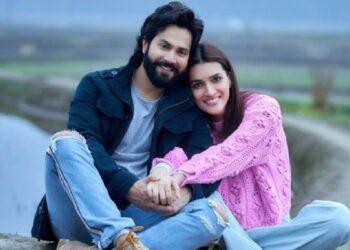 Varun and Kriti
