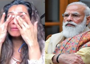 Payal, PM Modi and Mamta were seen crying over Bengal violence