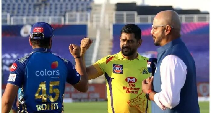 Mumbai Indians won the toss and challenged Dhoni to battle
