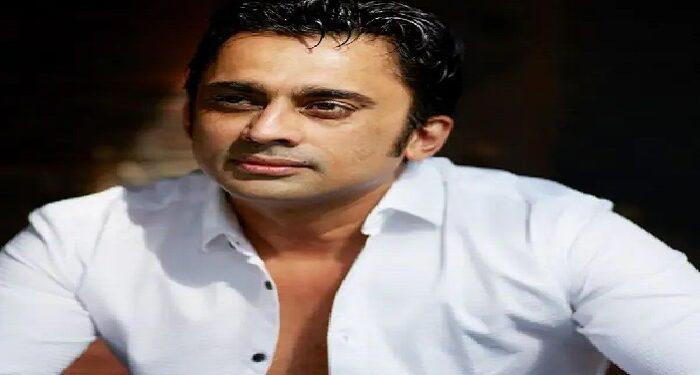 TV star Anuj Saxena