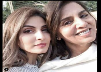 On the special occasion of Mother's Day, Riddhima shared a picture with her mother