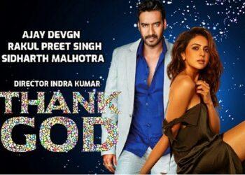 Corona epidemic eclipse hit Ajay Devgan's film Thank God