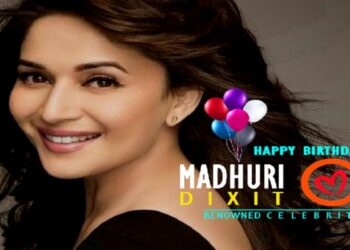 Happy birthday to Madhuri Dixit, who ruled crores of hearts in the 90s