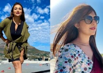 Divyanka Tripathi catches fire in India from Cape Town, fans said ...