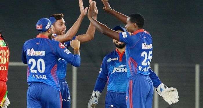 Delhi thrashed Punjab by 7 wickets, once again at top of the points table