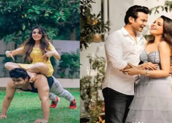 Sanket Bhosle gave birthday wishes to Sugandha Mishra in a special way