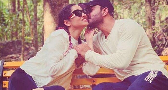 Ankita Lokhande is seen enjoying with boyfriend Vicky Jain