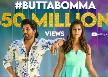 Allu Arjun and Pooja Hegde's song 'Butta Bomma' set new record on YouTube