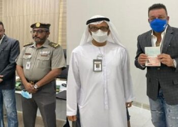 Sanjay Dutt became the first actor to take UAE's Golden Visa