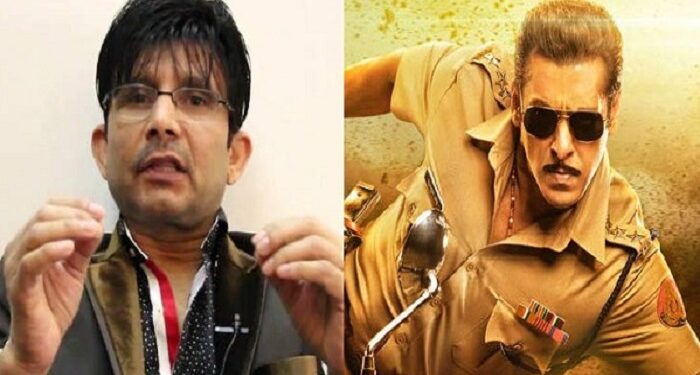 KRK got a big setback, now will not be able to review any of Salman's films