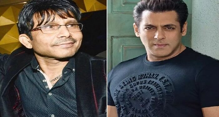 KRK gave an open challenge to Salman